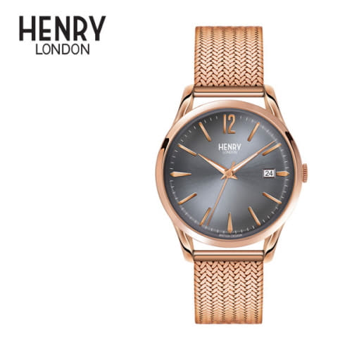 [헨리런던 HENRY LONDON] HL39-M-0118 Finchley(핀츨리) 38.5mm